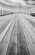 The Pathway Photos - Empty Wooden Walkway By The Seaside by STOCK4B Creative