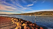 Australia Photographs Framed Prints - Emu Point Channel Albany West Australia Framed Print by John Bosich