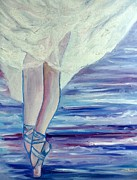 En Pointe Framed Prints - En Pointe Framed Print by Julie Brugh Riffey