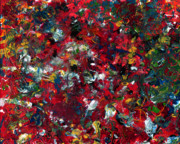 Abstract Art - Enamel 1 by James W Johnson
