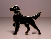 Dogs Jewelry - Enamels 15c by Dwight Goss