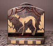 Dogs Jewelry - Enamels 48d by Dwight Goss