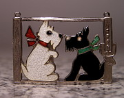 Dog Jewelry Prints - Enamels 48g Print by Dwight Goss