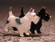 Dogs Jewelry - Enamels 48h by Dwight Goss