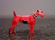 Dog Jewelry Prints - Enamels 48i Print by Dwight Goss