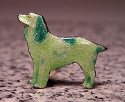 Dogs Jewelry - Enamels 48j by Dwight Goss