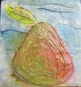 Jenell Richards - Encaustic Pear