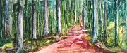 Enchanted Forest Paintings - Enchanted Forest by Anna Ruzsan