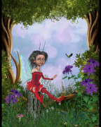 Fairy Art For Sale Prints - Enchanted Forest Print by John Junek