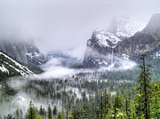 Tunnel View Prints - Enchanted Valley Print by Bill Gallagher