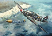 Adolph Art - Encounter over Beachy Head by Colin Parker