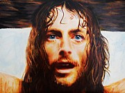 Christ Pastels Prints - Encumbrance Print by Mandy Thomas