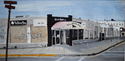 Asbury Park Painting Prints - End of an Era Print by Patricia Arroyo