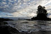 Juan De Fuca Posters - End of Day Poster by Tim Isaak