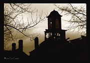 Chimneys Prints - End of the Day Print by Cori Caputo