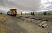 Train Tracks Photo Originals - End Of The Line by James Steele