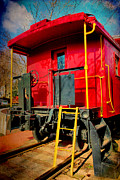 Caboose Photo Prints - End of the Line Print by Steven Ainsworth