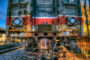 Abandoned Train Framed Prints - End of the Line Framed Print by William Jobes