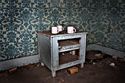 Rural Decay Posters Photos - End Table by Larysa Luciw