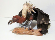Original Sculptures - Endangered species by Andre Ferron