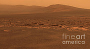 Nasa Space Program Prints - Endeavour Crater, Mars Print by NASA/Science Source