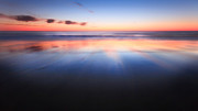 Calming Prints - Endless Horizon Print by Bill  Wakeley
