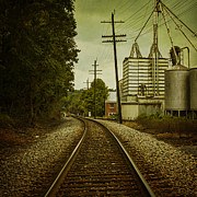 Train Line Prints - Endless Journey Print by Andrew Paranavitana