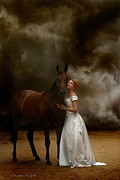 Horse Posters - Endless Love Poster by Dorota Kudyba