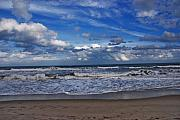 Beach Scene Photos - Endless Ocean by Susanne Van Hulst