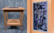 Hockey Mixed Media - Endtable by Steven Donley