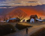 Sunset Scenes. Painting Prints - Endurance Print by Doug Strickland