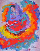 Mexican Folklore Paintings - Energia by Judy Bess