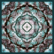 Turquoise Stones Art - Energy by Bell And Todd