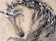 Arabian Horses Mixed Media - Energy by Gabrielle England