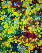 Abstract And Or Expressionistic Work - Energy Life Of A Tree by Charles Peck