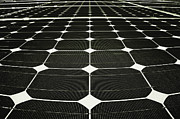 Solar Panel Prints - Energy Net Print by Evelina Kremsdorf