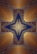 Apophysis Digital Art Prints - Energy Of Love For All Print by Deborah Benoit