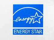 Energy Efficient Framed Prints - Energy Star Logo Framed Print by Photo Researchers, Inc.