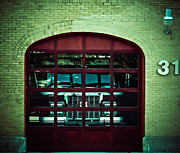 Rescue Station Framed Prints - Engine 31 Framed Print by Angela Wright