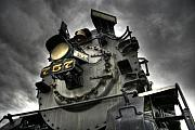 Abandoned Train Prints - Engine 757 Print by Scott  Wyatt