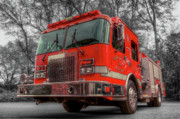 Fire Department Photos - Engine 802 by Drew Castelhano