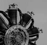 Plane Radial Engine Prints - Engine Print by Darren Burroughs