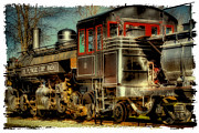 Train Landscape Framed Prints - Engine Number 11 - U.S. Plywood Corp Framed Print by David Patterson