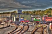 Engine Sheds Quainton Road Buckinghamshire Railway Print by Chris Thaxter