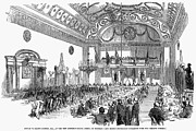 Homage Photo Posters - England: Banquet, 1851 Poster by Granger