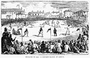 1842 Photos - England: Cricket, 1842 by Granger