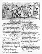 Negro Framed Prints - England: Drinking Song Framed Print by Granger