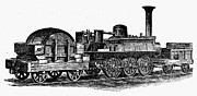 Caboose Prints - ENGLAND: LOCOMOTIVE, c1831 Print by Granger