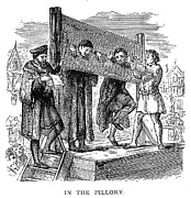 Amputation Framed Prints - England: Pillory Framed Print by Granger