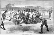 Rugby Photos - England: Rugby (1871) by Granger